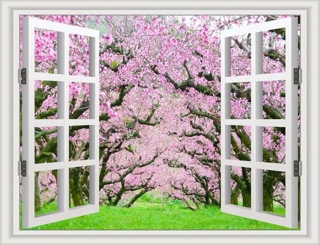 Không gian được rộng với mẫu tranh cửa sổ mới nhất hiện nay