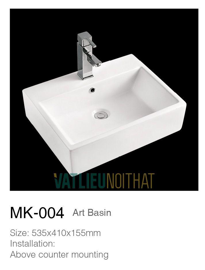 Chậu rửa lavabo đặt bàn MK004