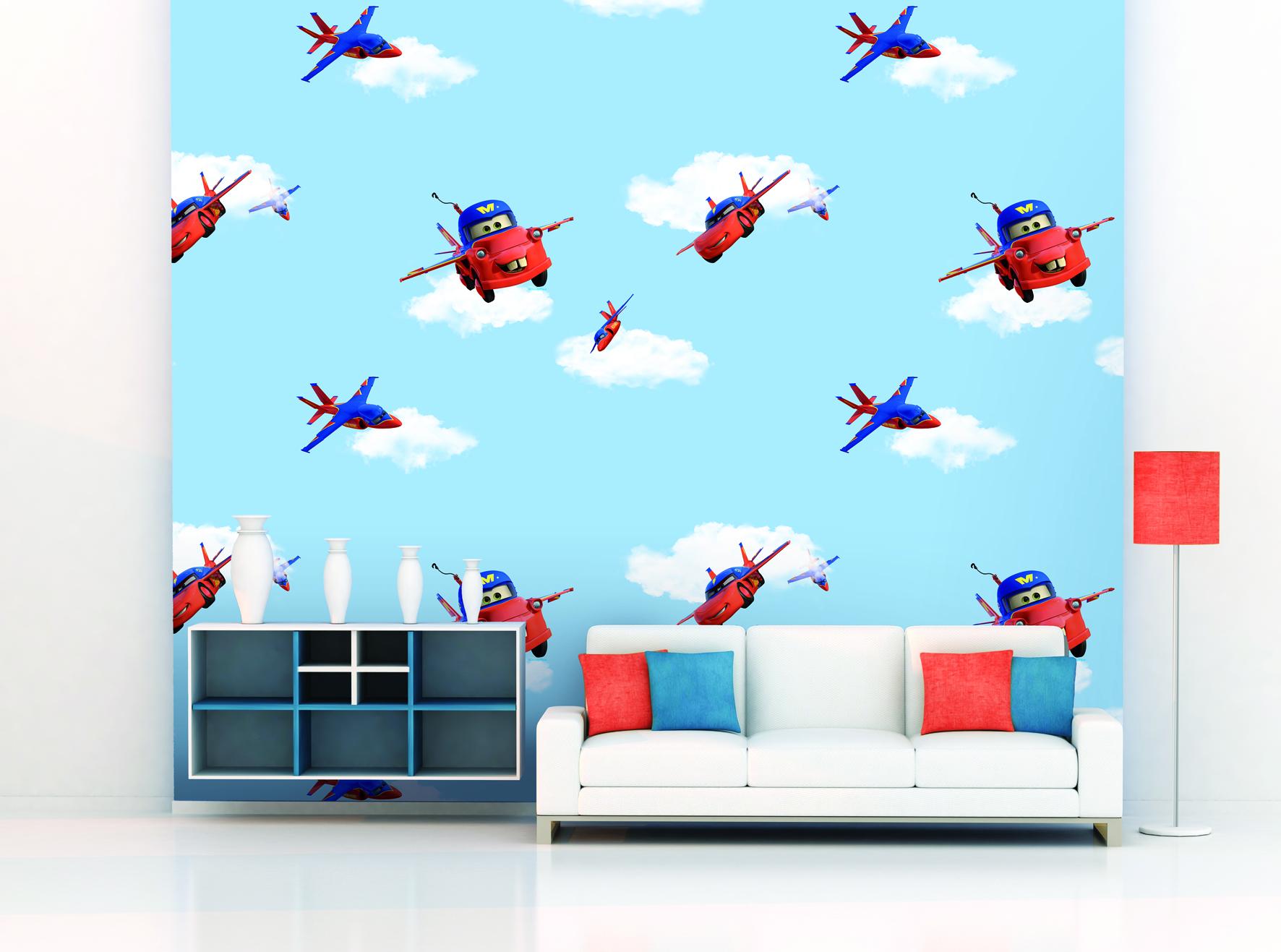 Giấy dán tường trẻ em Dream Wordl D5070-1