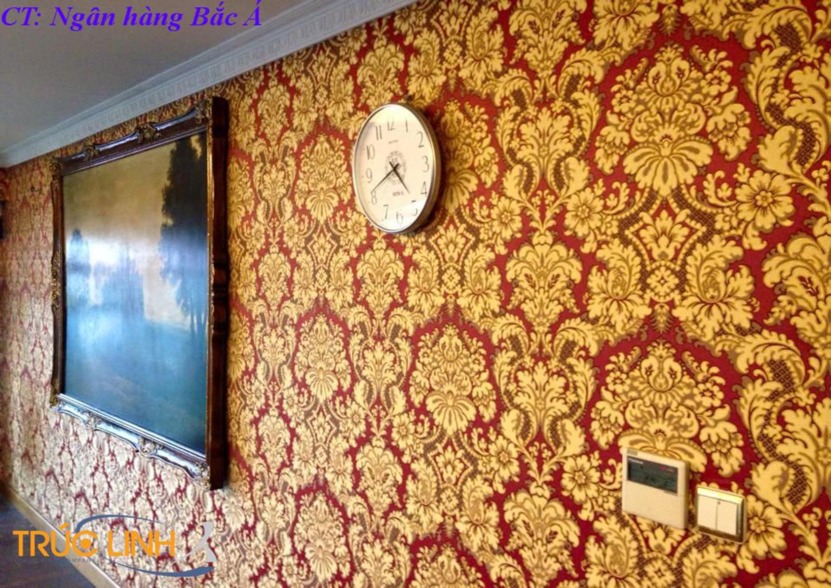Vải dán tường Melantha 837405