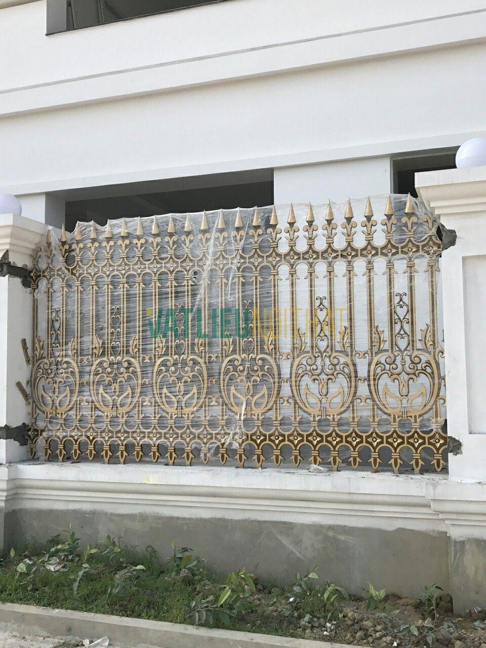 Hàng rào nhôm đúc chân không VLNT01