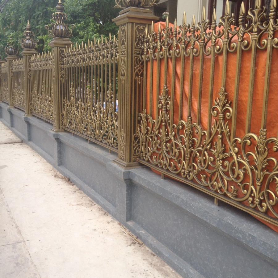 Hàng rào nhôm đúc chân không VLNT03