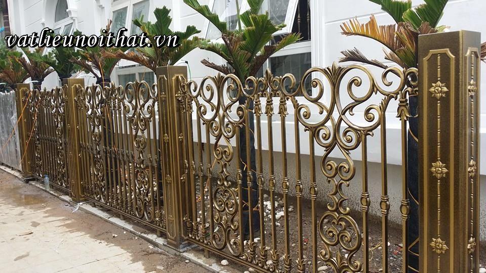 Hàng rào nhôm đúc chân không VLNT050