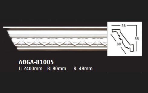 Phào PU trần GA81005